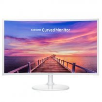 "Samsung LC27F391FHMXUF 27"" Full HD 4ms HDMI Beyaz Curved Monitör"