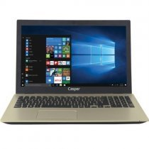"Casper Nirvana F600.7500-BT45P-G-IF Intel Core i7-7500U 2.70GHz 16GB 1TB 2GB 940MX 15.6"" Full HD Win10 Gold Notebook"