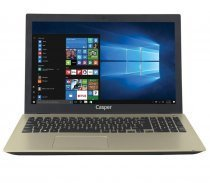 "Casper Nirvana F600 F600.7200-8T45T-G Intel Core i5-7200U 2.50GHz 8GB 1TB 2GB 940MX 15.6"" Win10 Gold Notebook"