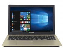 "Casper Nirvana F600 F600.7200-AT45T-G i5-7200U 2.50GHz 12GB 1TB 2GB 940MX 15.6"" Windows 10 Gold Notebook"