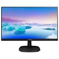 Philips 243V7QDSB-00 23,8'' IPS, 1920x1080, 5ms, Analog-DVI-HDMI, Siyah Monitör