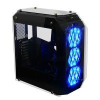 GamePower Eos Gaming 3*120mm Mavi LED Fanlı Quad Tempered Glass Mid ATX Kasa