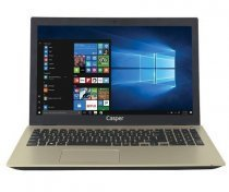 "Casper Nirvana F600 F600.7200-8T45X-G Intel Core i5-7200U 2.50GHz 8GB 1TB 2GB 940MX 15.6"" FreeDOS Gold Notebook"