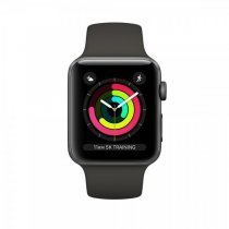 Apple Watch Series 3 GPS 42 mm Uzay Grisi Alüminyum Kasa Gri Spor Kordon MR362TU/A - Apple Türkiye Garantili