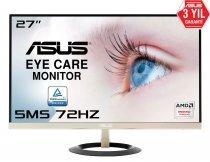 "Asus VZ279Q 27"" Full HD 75Hz 5ms HDMI/Analog/Display UltraSlim Çerçevesiz IPS Gaming Monitör"