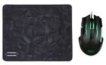 Hiper Black Widow X20 3200DPI 6 Tuş Optik Gaming Mouse + Mouse Pad Set