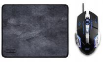 Hiper Raum X7 3200DPI 6 Tuş Optik Gaming Mouse + Mouse Pad Set