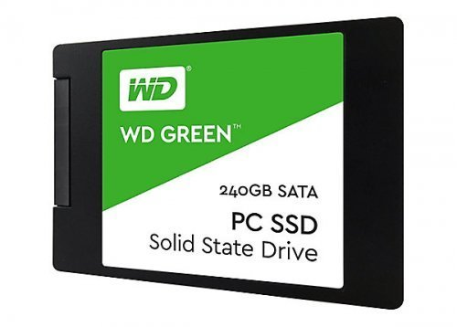 "WD Green 240GB 2.5"" 545MB/465MB/s 3D Nand SSD Disk - WDS240G2G0A"