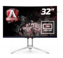 "AOC AG322QCX 31.5"" QHD 4ms 144Hz Gaming Monitör"