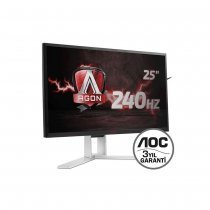 "AOC AG251FZ 240 Hz 24.5"" 1ms (Analog+DVI-D+2xHDMI+Display) Full HD Oyuncu Monitörü"