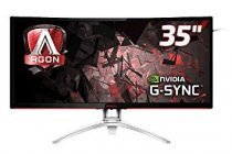 "AOC AG352UCG 35"" 100 Hz 4ms (2xHDMI+Display) 4K UHD Curved GSnync MVA Oyuncu Monitörü"