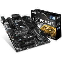 MSI B250 Pc Mate Intel B250 Soket 1151 DDR4 2400MHz ATX Gaming Anakart