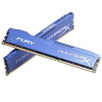 HyperX HX316C10FK2/16 Fury Blue 16GB Kit (2x8GB) 1600MHz DDR3 CL10 Bellek