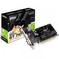 MSI GT 710 1GD3 LP 1GB DDR3 64Bit DX12 Ekran Kartı