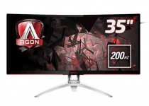 "AOC Agon AG352QCX 35"" 2560x1080 4ms 200Hz (Display+DVI-D+HDMI+Analog) FreeSync Full HD Oyuncu Monitör"