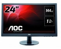 "AOC 2460FQ 24"" 1ms 144Hz Full HD DP/HDMI/DVI/Analog WLED Gaming Monitör"