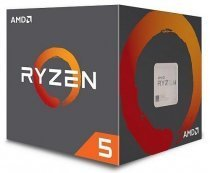 AMD Ryzen 5 2600 3.4GHz-3.9GHz 6/12 19MB Soket AM4 65W 12nm Wraith Stealth Fanlı BOX İşlemci