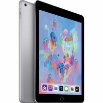"Apple iPad 2018 6. Nesil 128GB Wi-Fi + Cellular 9.7"" Space Gray MR722TU/A Tablet - Apple Türkiye Garantili"