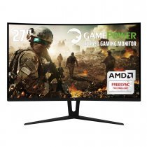 GamePower GPR27C144 Curved Gaming Monitör 27'' 1ms 144Hz FreeSync Samsung VA Panel Sıfır Ölü Piksel Garantili DP1.2 HDMI DVI-D Audio