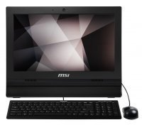 "MSI Pro 16T 7M-002XEU Intel Celeron 3865U 4GB 500GB 15.6"" FreeDOS Siyah All In One Pc"