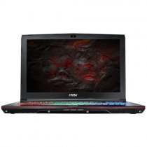 MSI GE62VR 7RF(Apache Pro)-425XTR Intel Core i7-7700HQ Max.3.80GHz 16GB DDR4 128GB SSD + 1TB 7200Rpm 3GB GTX 1060 15.6'' Full HD FreeDOS Gaming Notebook