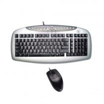 A4 Tech KB-21620D Q PS/2 Siyah/Gri Set