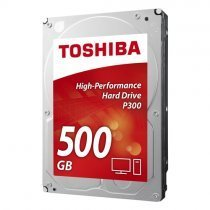 "Toshiba P300 High Performance HDWD105UZSVA 500GB 7200RPM 3.5"" SATA 6Gb/s Harddisk"