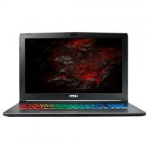 "Msi GF62 7RE-2800XTR Intel Core i7-7700HQ 2.80GHz 8GB 1TB 4GB GTX 1050 Ti 15.6"" Full HD FreeDOS Gaming Notebook"