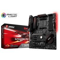 MSI X470 Gaming Pro AMD X470 Soket AM4 DDR4 3466MHz ATX Gaming(Oyuncu) Anakart