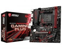 MSI B450M Gaming Plus AMD B450 Soket AM4 DDR4 3466(O.C.)Mhz mATX Gaming(Oyuncu) Anakart