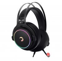 GamePower Warlord Siyah 7.1 Surround RGB Gaming Kulaklık