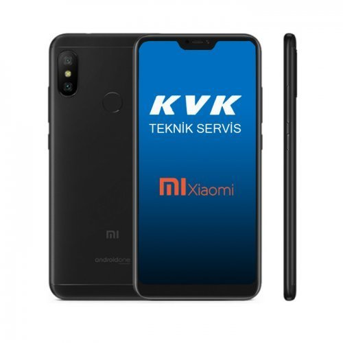 7bda5b2ec3d Xiaomi Mi A2 Lite 64 GB Siyah Cep Telefonu KVK Teknik Servis Garantili