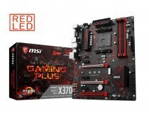 MSI X370 Gaming Plus AMD X370 Soket AM4 DDR4 3200(OC)MHz ATX Gaming Anakart
