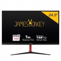 "James Donkey JD25GM144 24.5'' 1ms 144Hz Full HD Gaming Monitör (FreeSync,Frameless, HDMI 2.0-144Hz) ""0"" Ölü Pixel Garantisi"