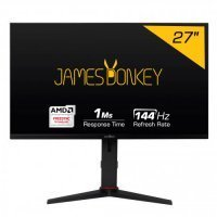 "James Donkey JD27GM144 27'' 1ms 144Hz(HDMI 2.0) Full HD Pivot Gaming Monitör (FreeSync, Frameless, HDMI 2.0-144Hz) ""0"" Ölü Pixel Garantisi"