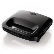 Philips Daily Collection HD2395/90 820W Siyah Tost Makinesi