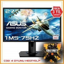 "Asus VG275Q 27"" Full HD 1ms GameFast Input Teknolojisi FreeSync Oyuncu Monitör"