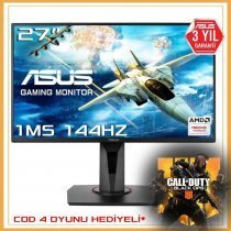 "Asus VG278Q 1ms 144hz Free-Sync Hoparlör 27"" Full Hd Gaming Monitör"