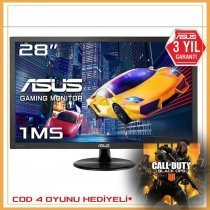 "Asus VP28UQG 4K UHD 1ms HDMI/DP 28"" Gaming Monitör"