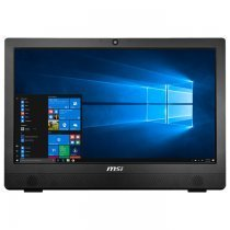 "MSI Pro AE93-101TR-X Intel Core i7-7700 3.60GHz 8GB 1TB+256GB SSD 2GB GeForce GT930MX 23.6"" Full HD Multi-Touch FreeDOS Siyah All In One PC"