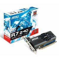 MSI Radeon R7 240 2GD3 LP 2GB DDR3 64Bit DX11.2 Ekran Kartı