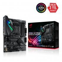 Asus Rog Strix B450-E Gaming AMD B450 Soket AM4 DDR4 4400(OC)MHz ATX Gaming (Oyuncu) Anakart