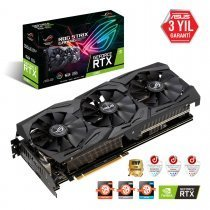 Asus ROG-Strix-RTX2060-A6G-Gaming GeForce RTX 2060 6GB GDDR6 192Bit DX12 Gaming Ekran Kartı