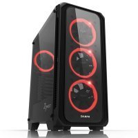 Zalman Z7 Neo USB 3.0 Midi-Tower RGB LED Fan Temperli Cam Siyah Gaming(Oyuncu) Kasa