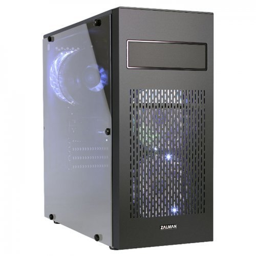 Zalman N2 Beyaz LED Fan Çelik Mesh Panel USB 3.0 Pencereli Siyah ATX Mid-Tower Gaming Kasa