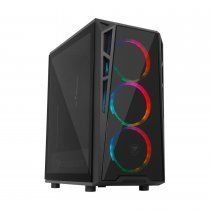Cougar 395QMY4 Turret RGB 700W 80+ Temperli Cam Mid-Tower Gaming Kasa