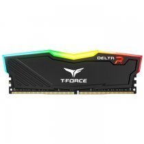 Team T-Force Delta RGB 8GB (1x8GB) DDR4 2666MHz CL15 Siyah Gaming Ram - TF3D48G2666HC15B01