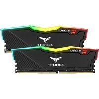 Team T-Force Delta RGB 16GB (2x8GB) DDR4 3200MHz CL16 Siyah Gaming Ram - TF3D416G3200HC16CDC01