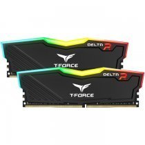 Team T-Force Delta RGB 16GB (2x8GB) DDR4 3200MHz CL16 Siyah Gaming Ram