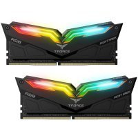 Team T-Force Night Hawk RGB 16GB (2x8GB) DDR4 3200MHz CL16 Siyah Gaming Ram - TF1D416G3200HC16CDC01